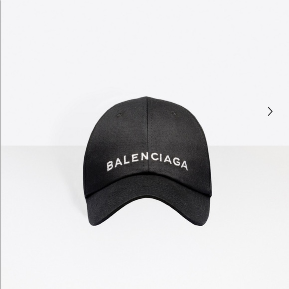 Iso Authentic Black Balenciaga Cap